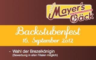 Backstubenfest 2012